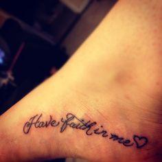"""Have Faith In Me"""