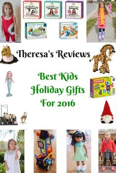 Theresa's Reviews - Best Kids Holiday Gifts For 2016 - Christmas Presents - Gifts For Children, Toddlers, And Preteens - Gifts My Six Year Old Will Love - Gifts Toddlers Enjoy - Gift Guides - 2016 Christmas Gift Guide