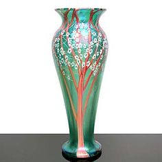 Light Opera - Orient and Flume - art glass, paperweights, vases, kaleidoscopes Porcelain Jewelry, Porcelain Vase, Fine Porcelain, Glass Ceramic, Ceramic Pottery, Porcelain Insulator, Elegant Home Decor, Interior Design Inspiration, Decorative Objects