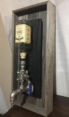 Dispensador de licor de montaje de pared