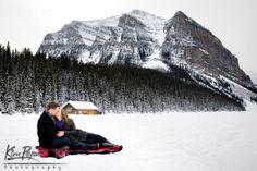 Banff/Lake Louise Winter engagement, lifestyle portraits,Outdoor portrait, banff engagement photographer, www.kimpayantphotography.com