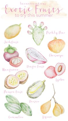 try these interesting fruits for a change this summer
