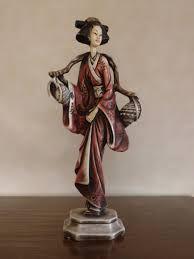 Resultado de imagen para figuras de japonesas en yeso