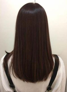 Trendy hair cuts korean beautiful Ideas – Hair is art Haircuts Straight Hair, Haircuts For Medium Hair, Medium Hair Cuts, Medium Hair Styles, Curly Hair Styles, Hair Cuts Straight, Straight Brunette Hair, Brown Blonde Hair, Dark Hair