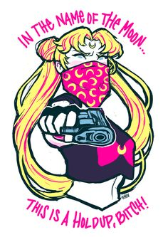 gangsta sailor moon bitch!!! --- via tumblr