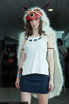 princess mononoke fan expo vancouver 2013 saturday