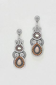 Athena Earrings in Neutrals