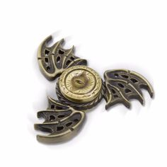 AVOIN colorlife Thrones Hand Metal Finger Stress Spinner Dragon Wings and Eye Fidget Toy Game - Direwolf Shop Direwolf Shop