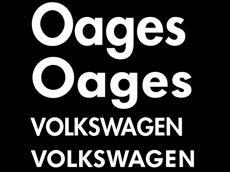 Futura and Volkswagen font