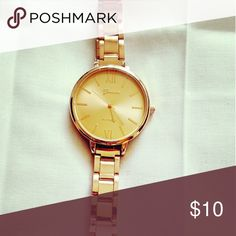 Cute rosegold watch Brand new watch. Very pretty rose gold color! Accessories Watches
