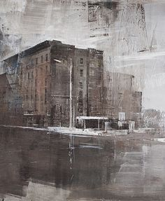 Alexey Alpatov, 8th avenue, 2009 (detail) - mixed media on canvas, 100/130cm