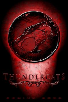 Thundercats logo on red