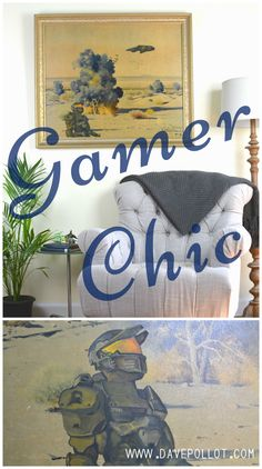 Fine decorating for the most discriminating of gamers.  www.davepollot.com
