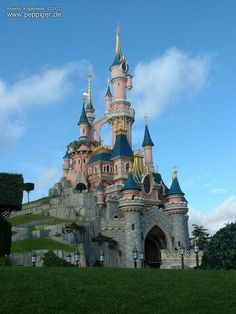 the disneyland castle!