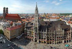 Представляем вам путеводитель по Мюнхену в фотографиях - город, парки, замки и величественные здания, музеи и пинакотеки Мюнхена в больших красивых фотографиях!
