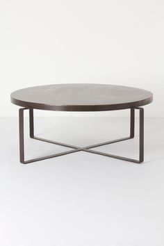 This one we could actually afford... Blacksmith Coffee Table - Anthropologie.com