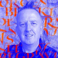 Elmo van Slingerland Calligraphy Classes, Royal Academy Of Arts, Typographic Design, Freelance Graphic Design, Elmo, Van, Social Media, Fictional Characters, Typography Design