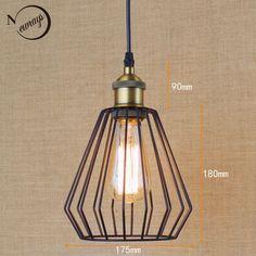 $23.60 (Buy here: https://alitems.com/g/1e8d114494ebda23ff8b16525dc3e8/?i=5&ulp=https%3A%2F%2Fwww.aliexpress.com%2Fitem%2FHardware-Lighting-lights-Loft-vintage-retro-balck-metai-wire-ball-pendant-lamp-illumination-For-Kitchen-Cabinet%2F32639540467.html ) Hardware Lighting lights Loft retro black Industrial metal wire ball pendant lamp illumination For Kitchen/bar coffee lights for just $23.60