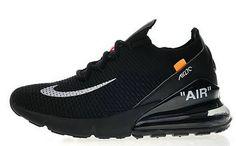 detailed look a9db7 4cd92 Più Economico Off White x Nike Air Max 270 011 Nero Bianca Noir Blanc In  Vendita