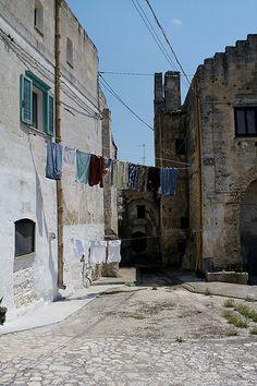 Matera - laundry