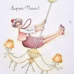 Cards » Super Nan » Super Nan - Berni Parker Designs