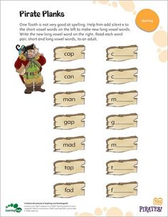 Pirate planks