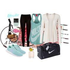 Sporty fashionista
