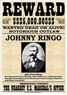 """Cole Younger"" Fantastic Western Style Wanted Poster sold by Andromeda Print Emporium. Shop more products from Andromeda Print Emporium on Storenvy, the home of independent small businesses all over the world. Old West Outlaws, Westerns, Famous Outlaws, Johnny Ringo, Old West Photos, Wyatt Earp, American Frontier, Le Far West, Mountain Man"