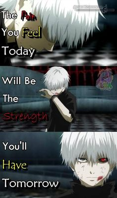 Pain can sometimes make you a monster- Tokyo Ghoul Sad Anime Quotes, Manga Quotes, Tokyo Ghoul Quotes, Ken Kaneki Tokyo Ghoul, Dark Quotes, Levi X Eren, Another Anime, Anime Life, Awesome Anime