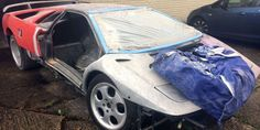 You Can Buy Perhaps the World's Roughest Lamborghini Diablo for $125,000 - Ebay