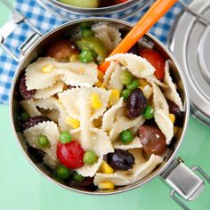 Summer Succotash Pasta Salad recipe | Epicurious.com