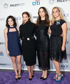 The cast of Pretty Little Liars look awesome hanging out at Comic-Con and PaleyFest