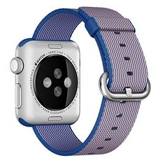 Apple Watch Band, HuanlongTM 2016 Newest Fine Woven Nylon... https://www.amazon.com/dp/B01EWUK3MI/ref=cm_sw_r_pi_dp_x_vJFtybEMMBF72