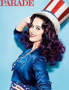 Katy Perry appears on the cover of Sunday's Parade