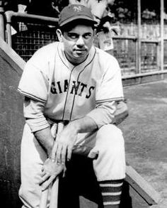 Bill Terry, Manager (1932–1941) Inducted 1954