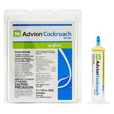 "Advion Cockroach Gel Bait, 4-syringes (2 PACK)   Advion Cockroach Gel Bait, 4-syringes (2 PACK) Customer Comments ""Love the Advion Roach Bait Gel! Put the tube down in an empty apartment that the last residents left infested. Turned around and the cockroaches were gathered around it ""licking"" it off. Best product around! DuPontTM Advion® cockroach gel bait is a new, high-performing bait product targeting all pest species of cockroaches. Get speed and spectrum all in a single product .."