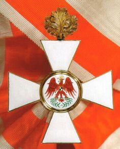 Prussian Order of The Red Eagle Cross with oak leaves Medal Honor, Ww1 History, War Medals, Grand Cross, Oak Leaves, Crosses, Tanks, Awards, Holiday Decor