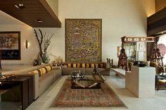 Living Room Designs Mumbai home to art - bhavna jacob : inside outside magazine | living