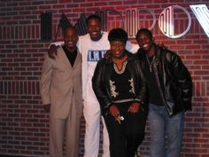"""At THE ONTARIO IMPROV COMEDY CLUB with comedians; RALPH HARRIS, FLEX ALEXANDER and LONI LOVE. Early 2000's. We toured IMPROV circuit with """"FLEX & FRIENDS"""""""