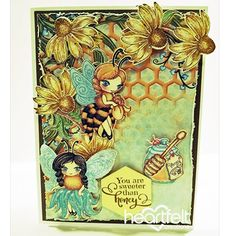 Heartfelt Creations - Sweeter Than Honey Project