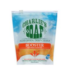 soften water |Charlie's Soap Hard Water Booster Fabric Protecto