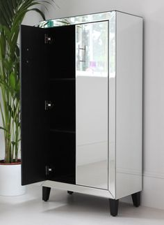 Mirrored drinks cabinet from Out There Interiors