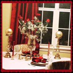 Private dining by #kreativelychicevents #anniversary #dinner #celebrate #love #roses #eventplanner #virginiabeach