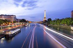Welcome to Paris #paris #seine #eiffel #tower #toureiffel #sunset