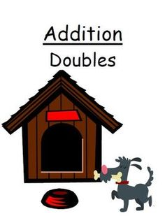 "FREE Center Game Math Addition ""Doubles"" Concept ~Over 50 Pages~"