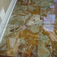 Multi Green Onyx TILE Pinterest Green onyx Mosaics and Onyx