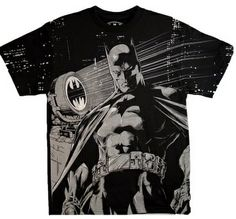 Batman All Over Print Tee Shirt | Batman T Shirt