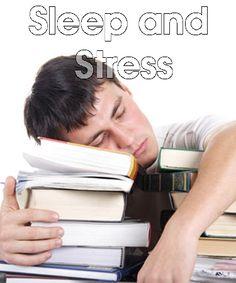 Sleep Well: Stress can degrade sleep quality   #poorsleep #sleepwell