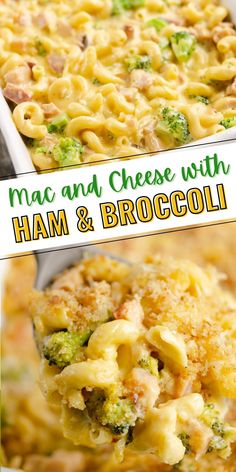 This rich and delicious Mac and Cheese with ham and broccoli is a family friendly recipe packed with pasta, leftover ham and vegetables and topped with baked breadcrumbs. Your kids will be begging for more!