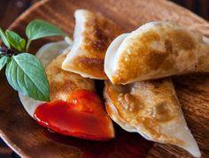 Tofu Recipes: Mushroom-Tofu Potstickers